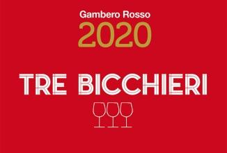 """Gambero Rosso: """"Tre Bcchieri 2020""""."""