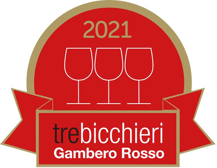 Gambero Rosso: 3 Bicchieri and 2 Stars.